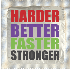 Préservatif Harder Better Stronger