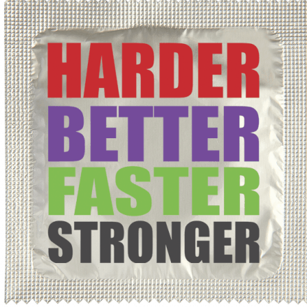 Condom Harder Better Stronger
