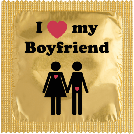 Condom I Love My Boyfriend