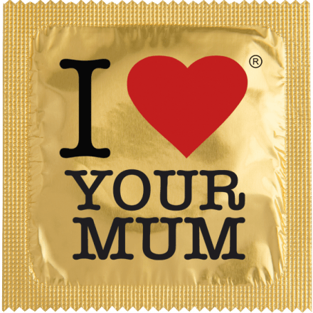 Condom I Love Your Mum