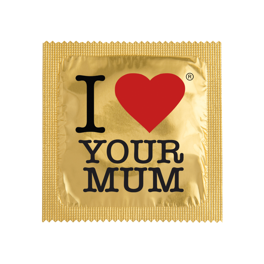 Préservatif I LOVE YOUR MUM
