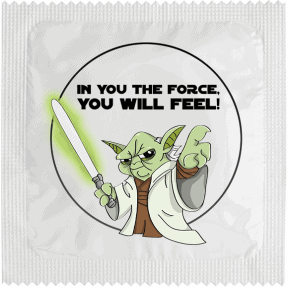 Condom THE FORCE YOU WILL FEEL