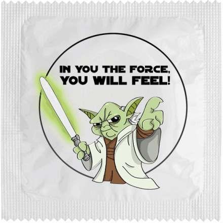 Préservatif THE FORCE YOU WILL FEEL