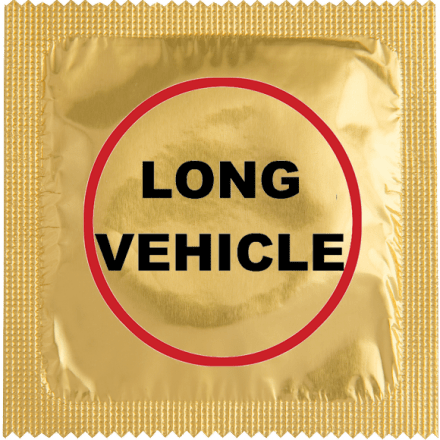 Condom Long Vehicle