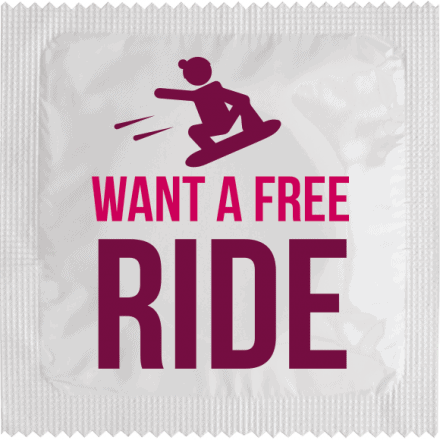 Préservatif Want A Free Ride