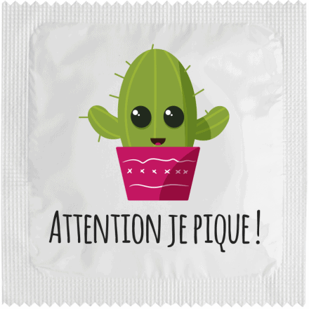 Préservatif Attention Je Pique
