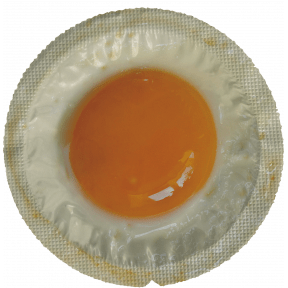 Condom Fried Egg