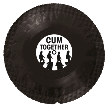 Vinyl Condom Cum Together