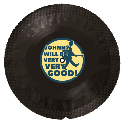 Vinyl Condom Johnny Will Be Very Very Good