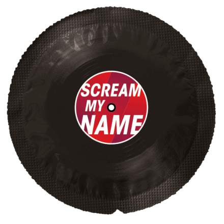 Préservatif Vinyle Scream My Name