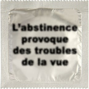 Condom ABSTINENCE (FRENCH)