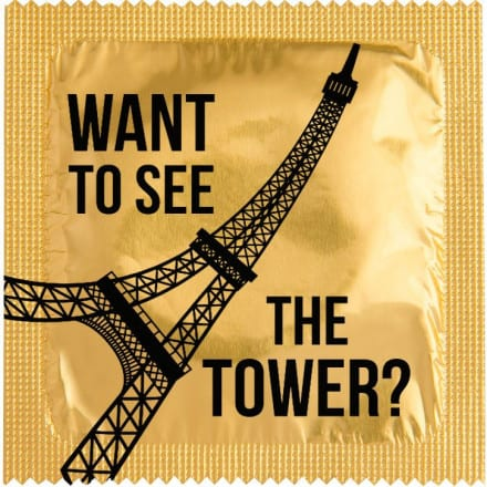 Condom Want to see the Tower