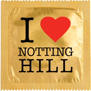 PrŽservatif Callvin I LOVE NOTHING HILL OR