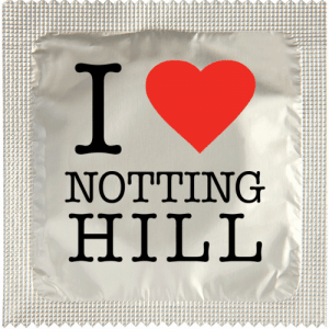PrŽservatif Callvin I LOVE NOTHING HILL CHROME