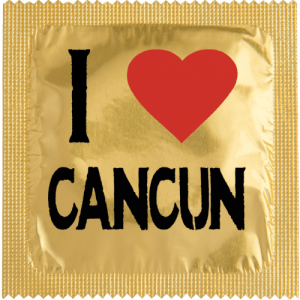 PrŽservatif Callvin I LOVE CANCUN OR