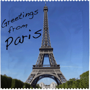 PrŽservatif Callvin Greetings From Paris