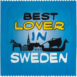 PrŽservatif Callvin BEST LOVER IN SWEDEN