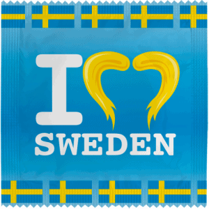 I LOVE (MOUSTACHE) SWEDEN