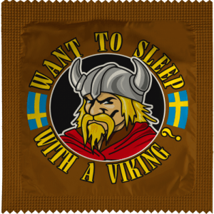 WANT TO SLEEP WITH A VIKING
