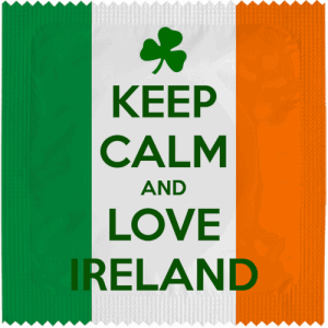 PrŽservatif Callvin KEEP CALM AND LOVE IRLAND