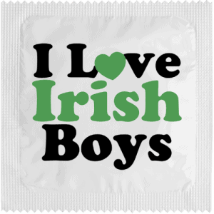 PrŽservatif Callvin I LOVE IRISH BOYS