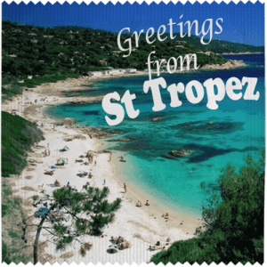 PrŽservatif Callvin Greetings From St Tropez