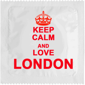 PrŽservatif Callvin KEEP CALM AND LOVE LONDON