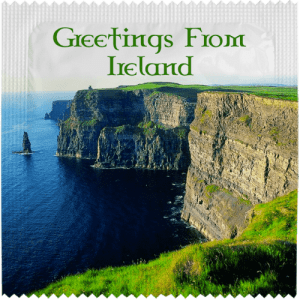 PrŽservatif Callvin GREETINGS FROM IRELAND