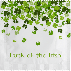 PrŽservatif Callvin LUCK OF THE IRISH