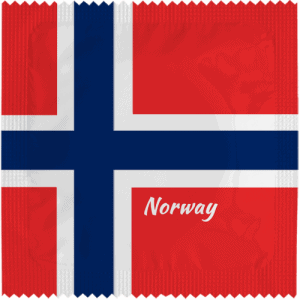 PrŽservatif Callvin NORWAY FLAG