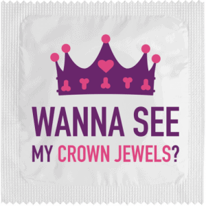 PrŽservatif Callvin WANT TO SEE MY JEWEL CROWN