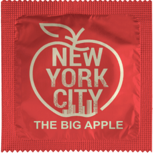PrŽservatif Callvin BIG APPLE