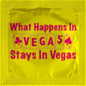 PrŽservatif Callvin WHAT HAPPENS IN VEGAS