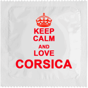 PrŽservatif Callvin Keep Calm And Love Corsica