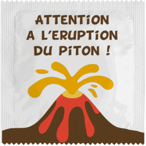 PrŽservatif Callvin Attention A l'Eruption Du Piton