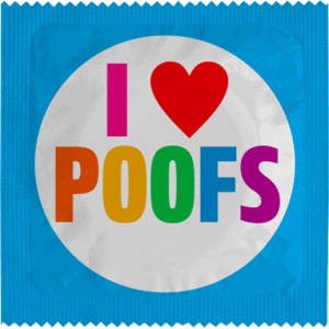 I LOVE POOFS