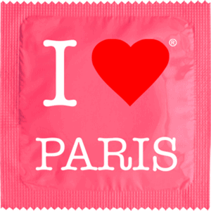 I Love Paris Rose