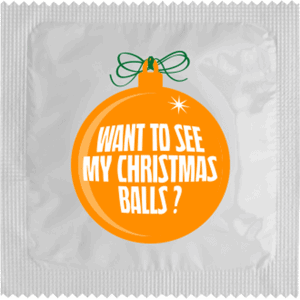 WANT TO SEE MY CHRISTMAS BALLS?
