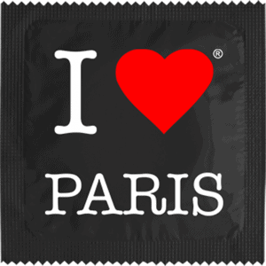 I LOVE PARIS NOIR