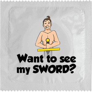WANT TO SEE MY SWORD