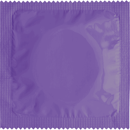 Callvin Condom Purple To Customize