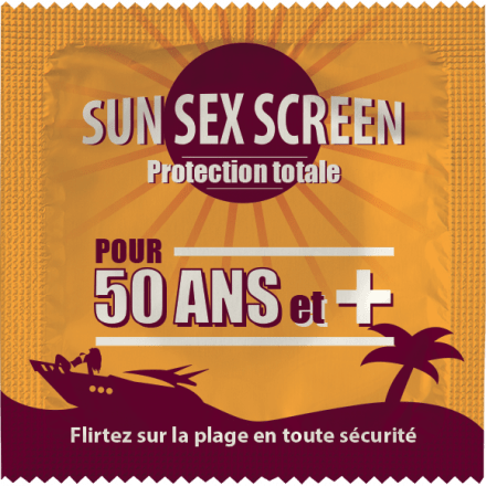 Préservatif Sun Sex Screen 50