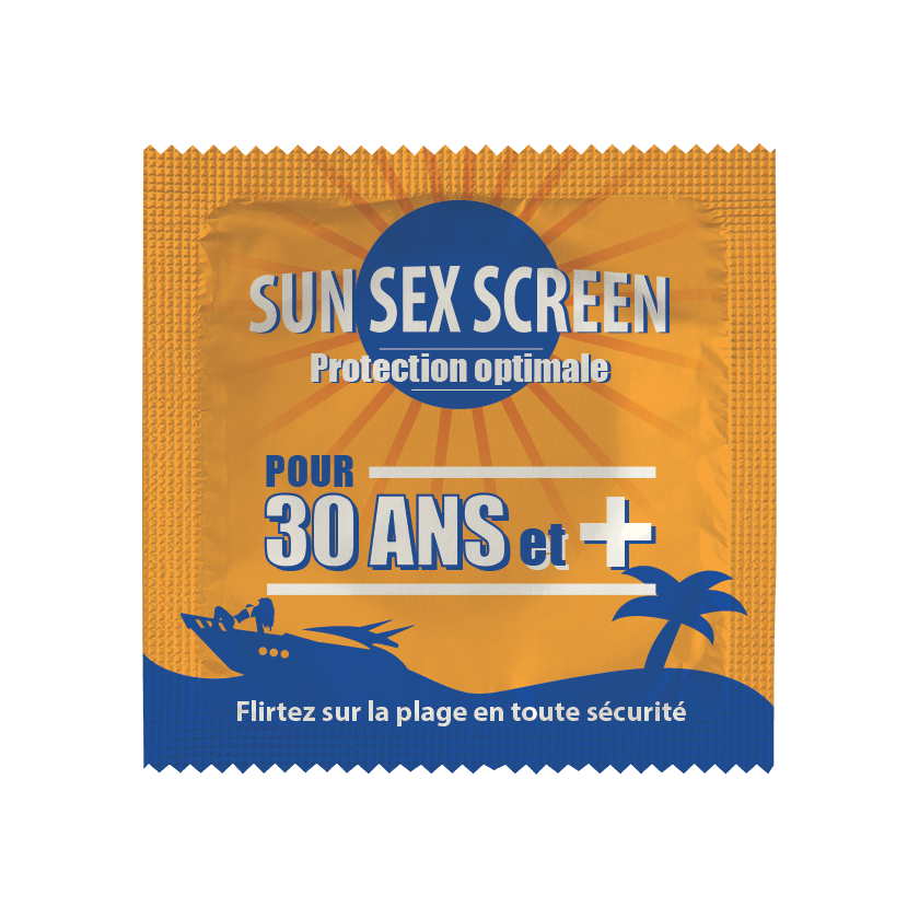 Préservatif Sun Sex Screen 30