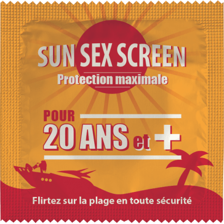 Préservatif Sun Sex Screen 20