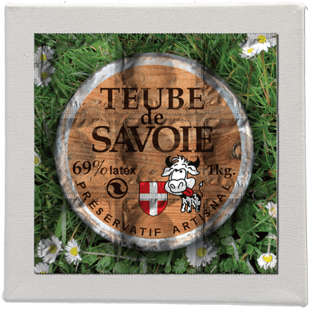 Teube de Savoie - Picture of 9 condoms