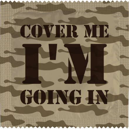 Préservatif COVER ME - I'm Going In