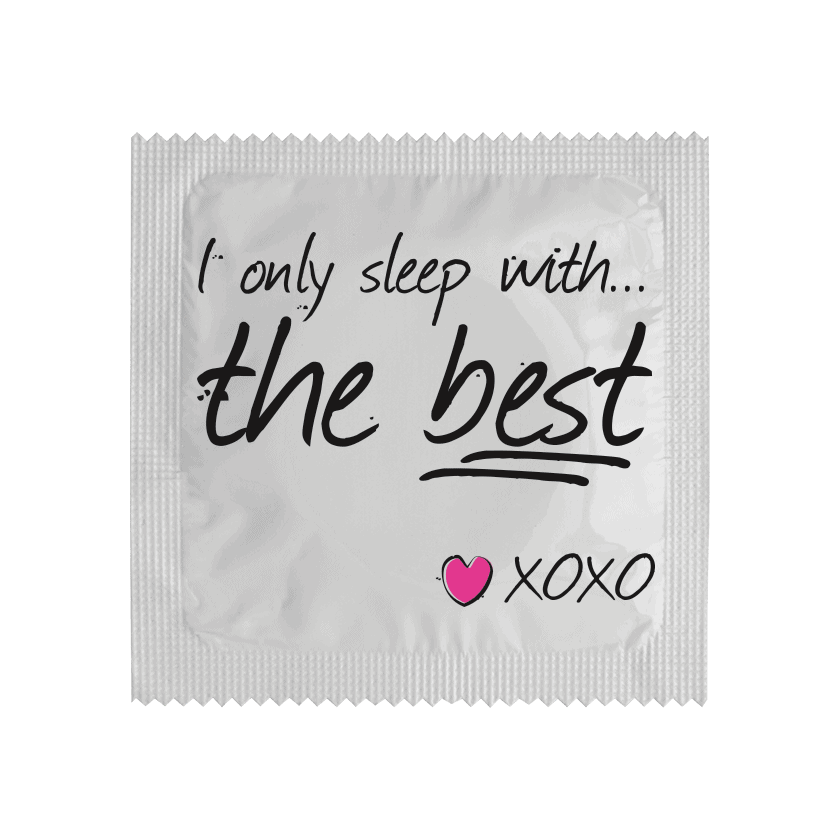 Préservatif I Only Sleep With The Best