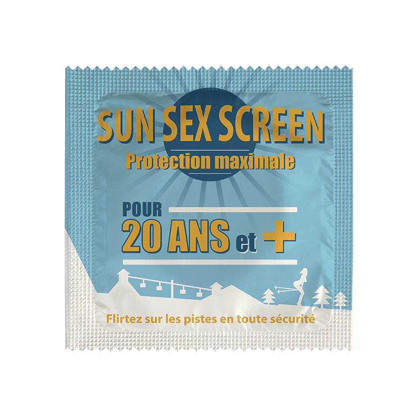 Préservatif Sun Sex Screen - 20 Winter