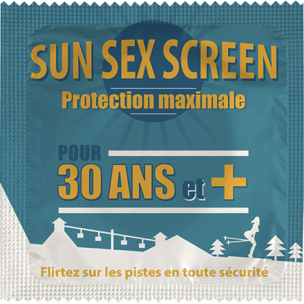 Préservatif Sun Sex Screen - 30 Winter