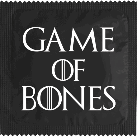Préservatif Game Of Bones